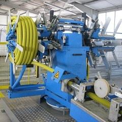 全自动管材收卷捆扎包装一体机